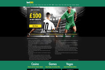 Bet365 welcome page